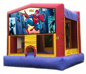 spiderman bounce house rental