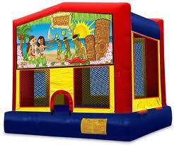luau bounce house rental